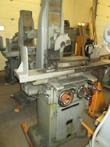 Reid No 2b Automatic 618 Surface Grinder W brown Sharpe Magnetic Chuck