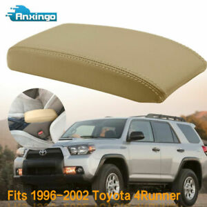Leather Armrest Center Console Lid Cover Fits Toyota 4runner 1996 2002 Beige