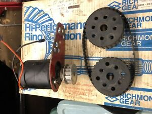 Moroso Electric Water Pump Drive Sbc Bbc Belt Drive Nhra Imca Race Drag Street