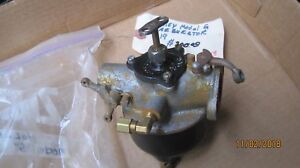 1919 Ford Model T holly Carburetor