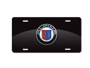 Alpina Aluminum Marque Black Plate With 82mm Alpina Bmw Emblem Hot Day Augt Sale