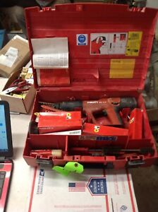 Hilti Dx A41 Powder Actuated Nail Gun W Case Accessories 7175