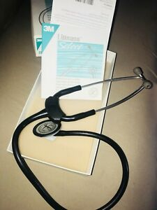 Stethoscope 3m Littman Select Black 2290 With Original Box ships Free Great