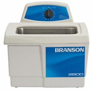 Branson Ultrasonic Cleaner 0 75 Gal Tank Timer Range 0 To 99 Min Continuous