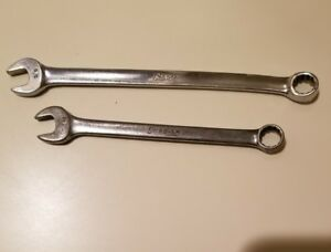 Snap On 3 8 Combination Wrenchs Lot Of 2 Oex 120 Oex12