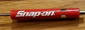 New Snap On Pocket Screwdriver Flat Tip Screwdrivers Red Magnetic