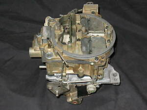 Survivor Rebuilt 7028208 Rochester Quadrajet 1968 Corvette 327 300 Carburetor