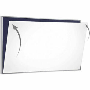 Ghent 174 Porcelain Magnetic Whiteboard Sheet skin 72 w X 48 h Lot Of 1