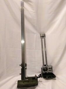 Etalon 24 Inch Vernier Height And 12 Inch Dial Height Gages