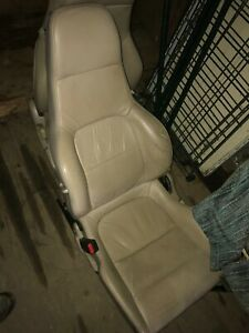 1992 1996 Honda Prelude Front Rear Seats Tan Leather