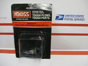 Boss Oem Snow Plow 9006 Low Beam Halogen Bulb Msc04742 For 2002 2007 Plow Lights