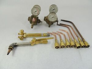 Oxy acetylene Welding cutting Torch Kit Airco Concoa