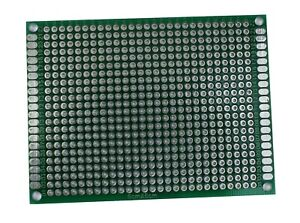 2 4 Pcs Double Sided Universal Pcb Proto Prototype Perf Board 6 8 6x8 Cm