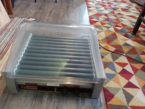 Apw Wyott Concession Hot Dog Roller Grill 30 Dog Capacity Hrs30
