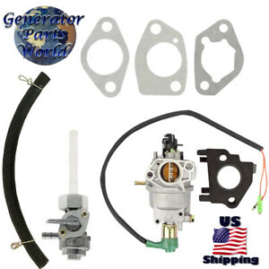 Powermate Carburetor W Solenoid Petcock For Pm0106507 Pc0106507 Pmc106507