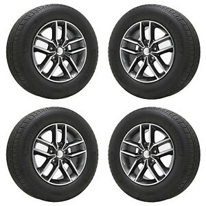18 Jeep Grand Cherokee Limited Wheels Rims Tires Factory Oem Set 4 9165