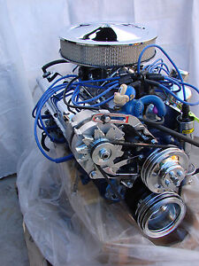 302 Ford Turn Key Crate High Performance Balanced Engine With Aluminum Heads