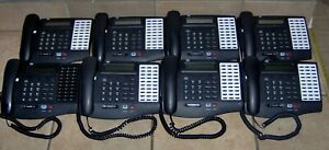 Lot Of 8 Vodavi 3015 71 30 Button Business System Phone Sets Very Clean