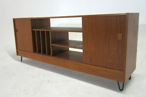 Mid Century Entertainment Center File Cabinet Credenza By H G Furniture Co