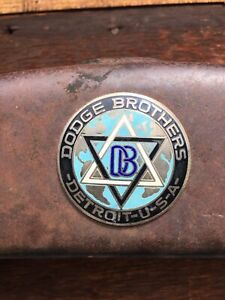 1920 s Dodge Brothers Radiator Grille Shell And Emblem