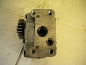 Hydraulic Gear Pump Economy International Hydro 574 100 454 Mccormick Case Ih