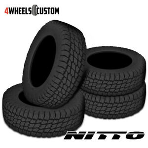 4 X New Nitto Terra Grappler 315 75 16 121q All terrain Tire