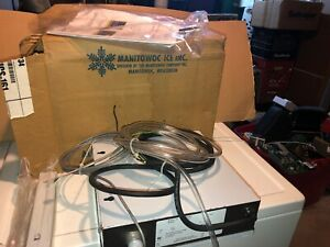 Manitowoc Iaucs 161 Ice Machine Maker Stainless Steel Automatic Cleaning System