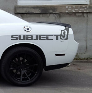 Challenger 08 14 Tail Light Vinyl Black Out Rear Kit Smoked Tinted Covers 9 Pcs