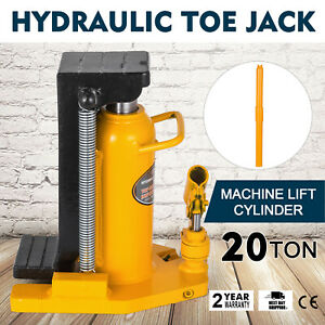 20 Ton Hydraulic Toe Jack Machine Lift Cylinder Welded Steel Repair Replace