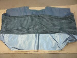 1962 Ford Galaxie Blue Front Seat Cover N O S