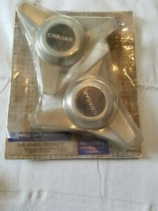 Nos Vintage Cragar Center Hub Caps Spinner Knock Offs Camaro Muscle Car Rat B14