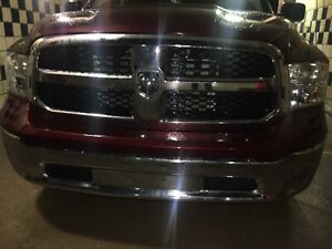 Factory Oem Used 2019 Dodge Ram 1500 Front Bumper Less Then 5000 Miles