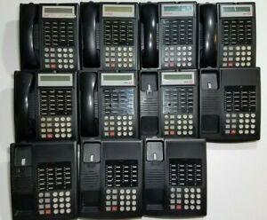 Lot Of 11 Avaya Lucent Partner 18 18d Series 1 Business Office Phones Black