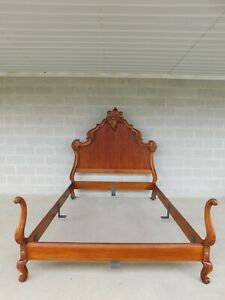 Quality French Louis Xv Style Queen Size Bed