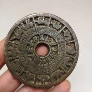 Old Chinese Antique Pure Bronze Copper Coins