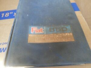 Fiat 850 Parts Manual Helpful Diagrams And Part S