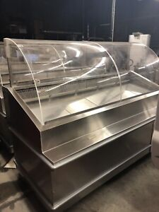 Traulsen 78 Refrigerated Deli Case Curved Glass