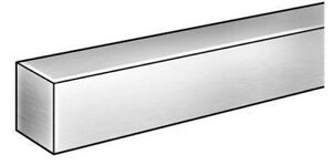 Square Stock 304 Stainless Steel 1 2 X 1 2 X 72 Solid Square 6 Ft Long Bar