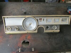 65 Dodge Dart Gt Speedometer Gauge Cluster Oem Missing Alt Gauge Speedo Works