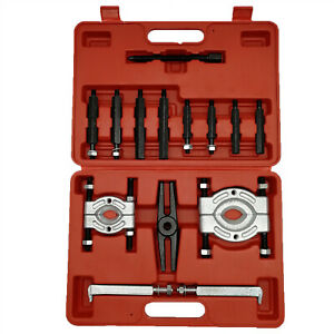 14pc Bearing Separator Puller Set 2 And 3 Splitters Remover And Bearing Kit