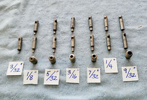 Roper Whitney Set Of Dies And Punches For 5 Junior Excellent Condition