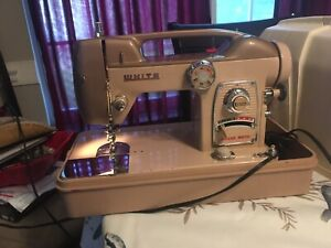 White Model 764 Heavy Duty Industrial Strength Sewing Machine W Case