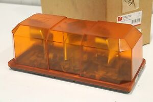 Federal Signal 450152 02 Highlighter Mini light Bar Amber 12v Emergency Strobe
