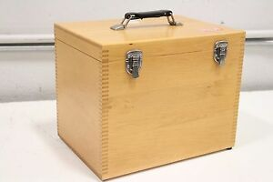 Spectra Tech Contact Sampler Atr Qc Wooden Case box Only