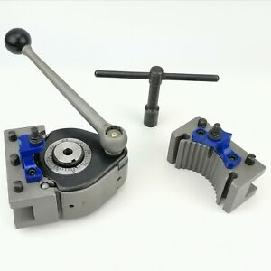 Multifix Quick Change Tool Post E5 With 2 Pcs Ed25100 Turning Tool Holder