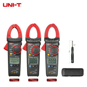 Uni t Digital Clamp Meter True Rms Auto Range Multimeter Temp Freq Ncv Ammeter