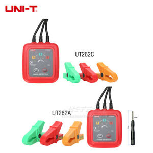 Uni t Non contact 3 Phase Sequence Rotation Detector Missing Judgment Led Tester