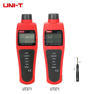 Uni t Digital Tachometers Non contact Target Rpm Test Distance 5 20cm Data Hold