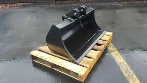 New 36 Volvo Ec35 Excavator Ditch Cleaning Bucket With Coupler Pins