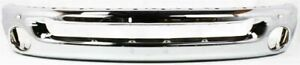 Front Bumper For 2002 2009 Dodge Ram 1500 2003 2009 Ram 2500 Chrome Steel